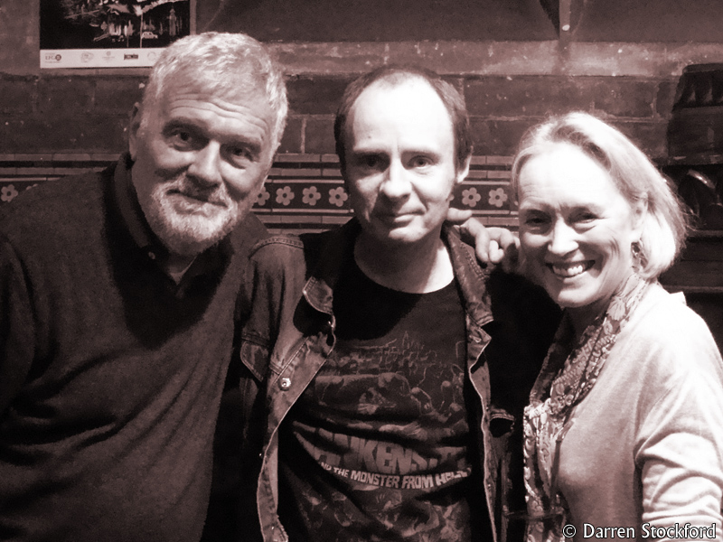 Me with Fabio Frizzi and Catriona MaColl at Union Chapel, 29 October 2016