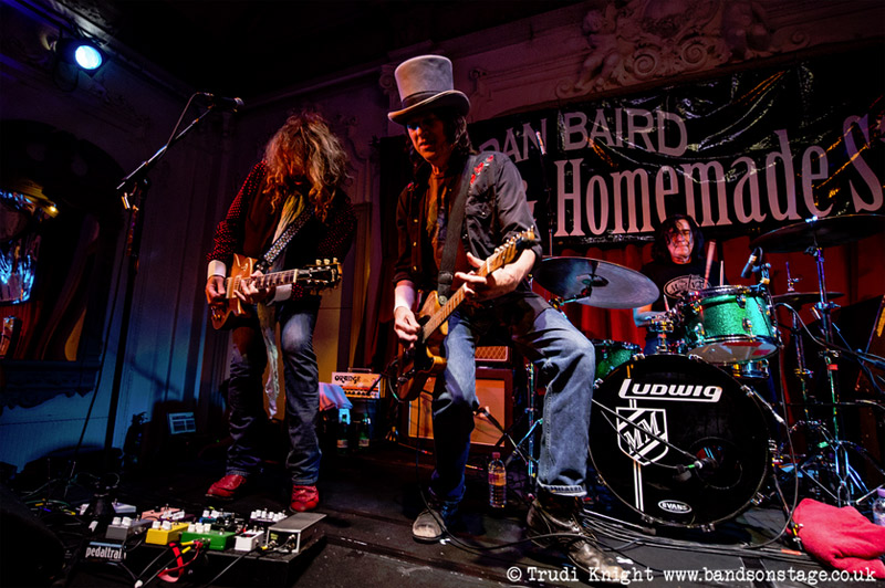 Dan Baird & Homemade Sin live at Bush Hall, 28 November 2014, by Trudi Knight Photography (bandsonstage.co.uk)