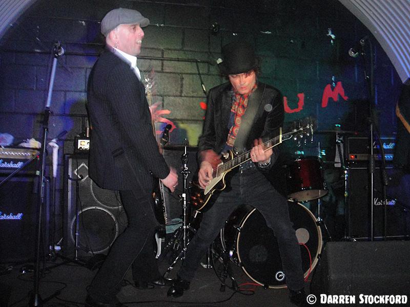 Slyder and Denley Slade of Last Great Dreamers at The Asylum 2, Birmingham, 7 April 2018