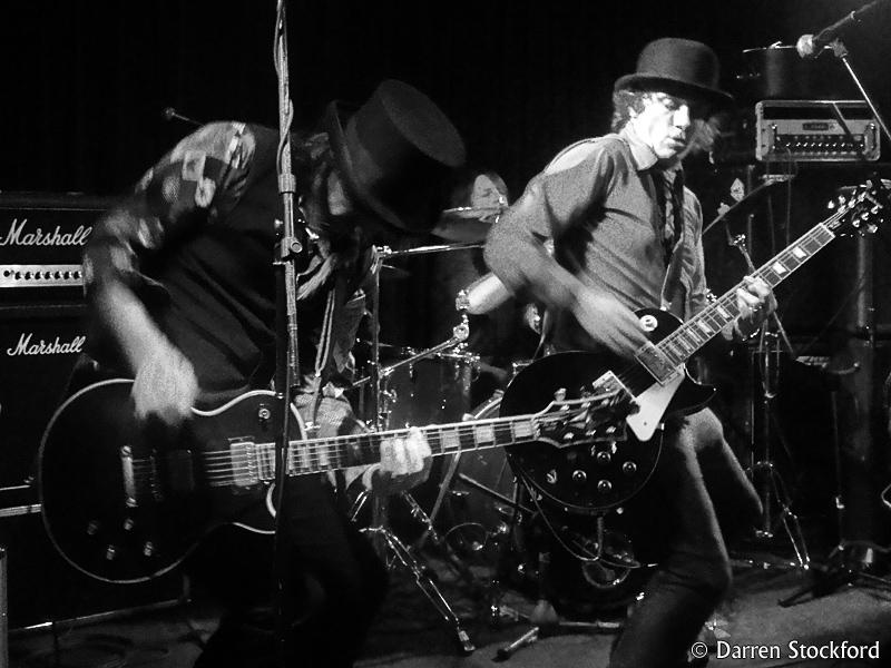 Last Great Dreamers live at The Wheatsheaf, Oxford, 7 November 2015