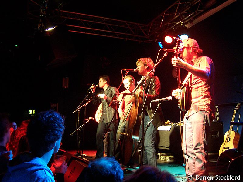 Old Crow Medicine Show live at KCLSU, London, 3 October 2007