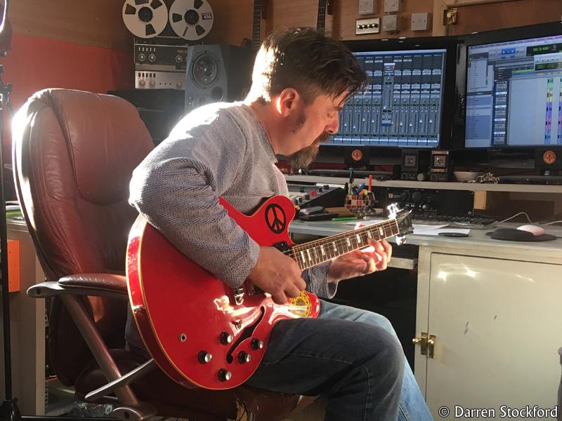 Pete Brown at Henwood Studios, 12 December 2017