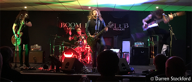 The Warner E. Hodges Band live at the Boom Boom Club, Sutton, 23 October 2018